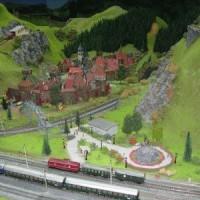 Die Modelleisenbahn im Miniland