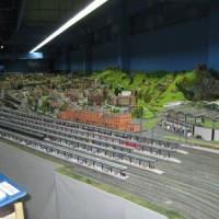 Die Modellbahnanlage im Miniland