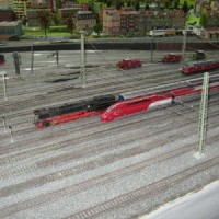 Modelleisenbahnanlagen im Miniland